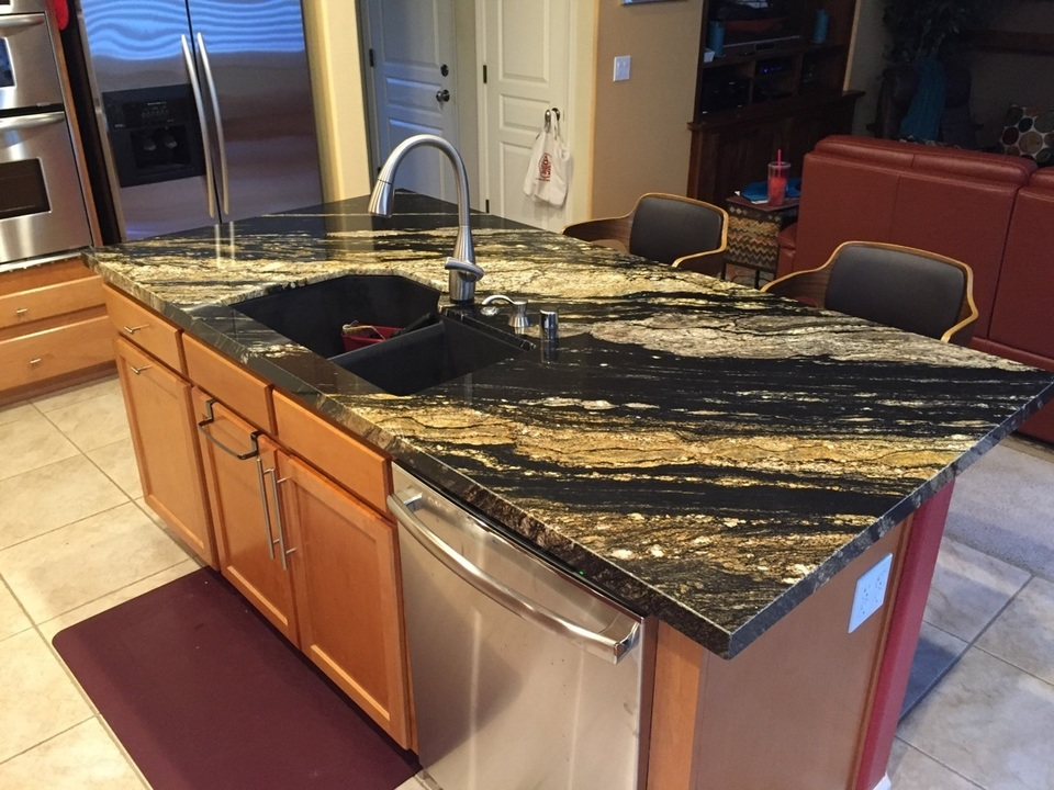 Kitchen countertop and island black and gold granite.300110807 large20161021 19320 1hd39s3