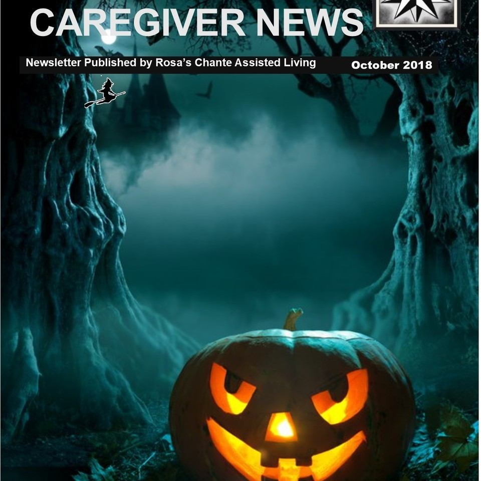 Caregiver news october 2018 cover