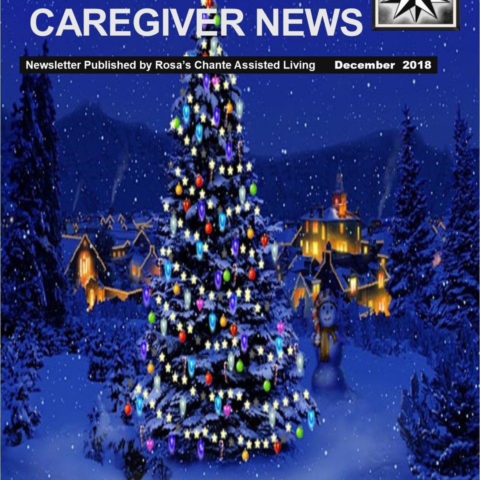 Caregiver news december 2018 cover