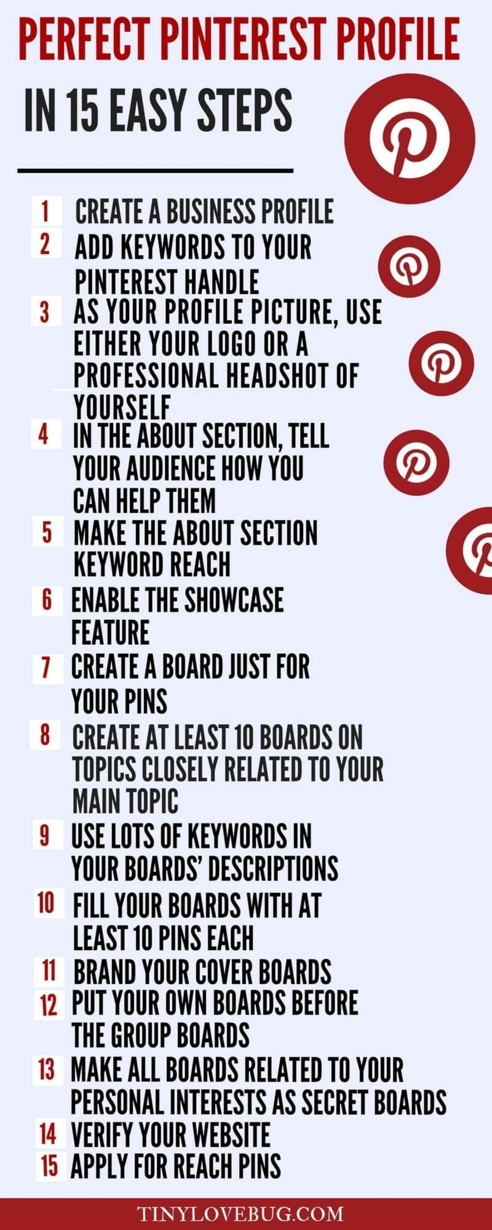 Pinterest for bloggers  perfect pinterest profile  infographic20180427 15503 1m9etn9