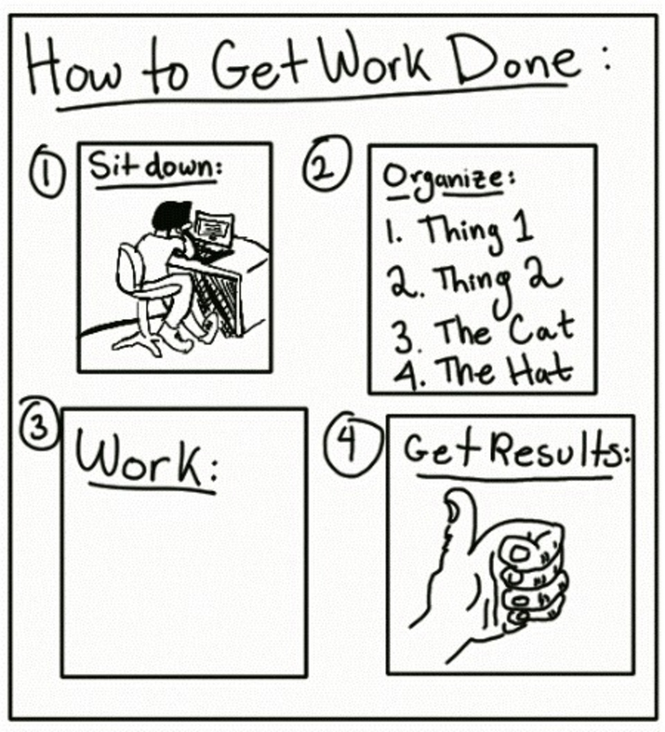 How to get work done