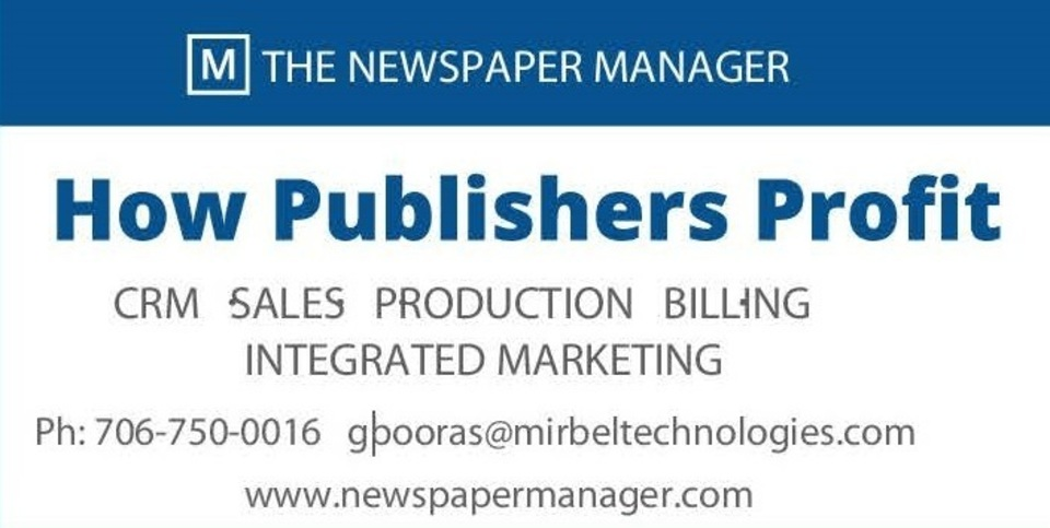 Newspaper manager