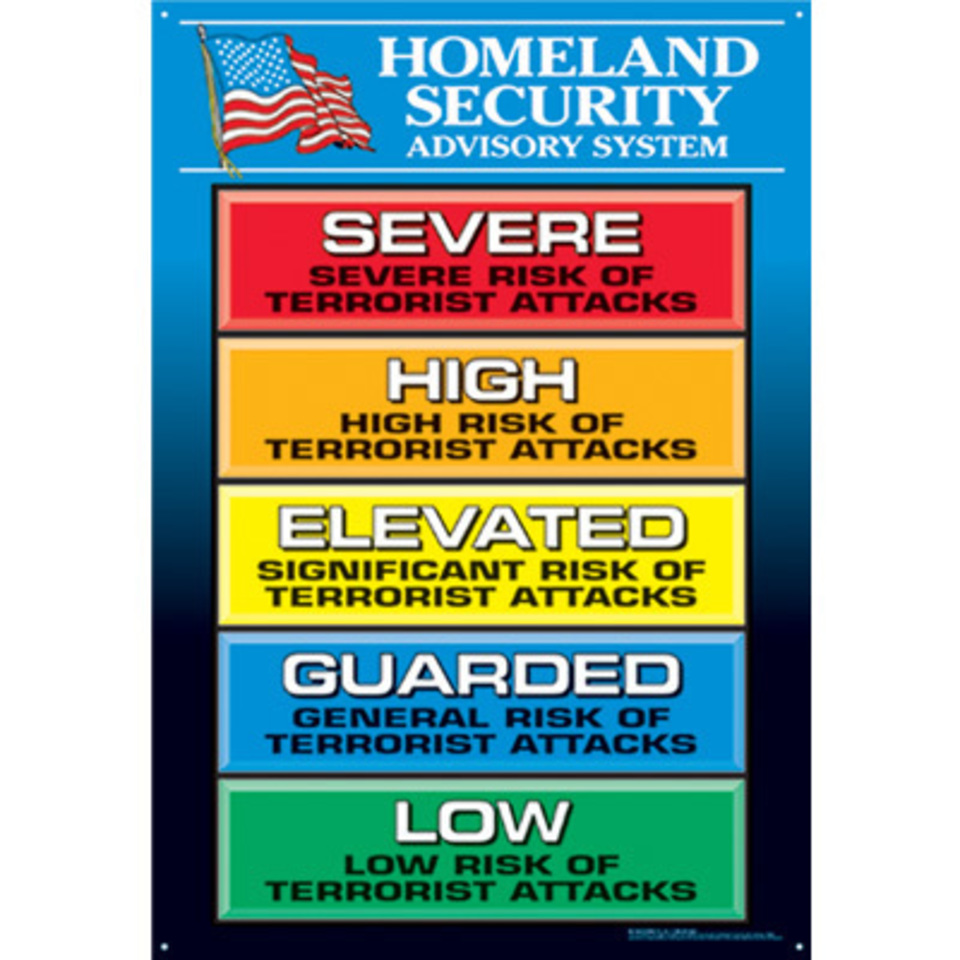 Homeland security advisory wall charts 85545 lg20161228 5710 77t2wc