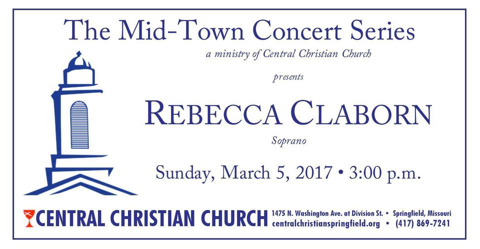 "<span style=""color: #000080;""><span class=""font-size-l""><strong>Soprano Rebecca Claborn in Concert</strong></span></span>"