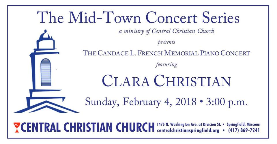 PIANIST CLARA CHRISTIAN IN CONCERT