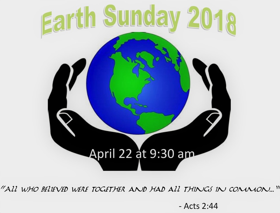 Earth sunday page 00120180410 5768 lx4y0f