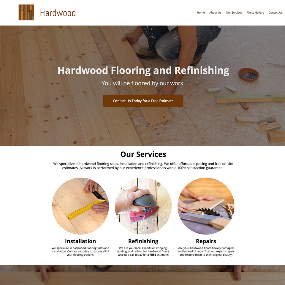 Hardwood flooring website design theme20171114 16093 vs1fsc