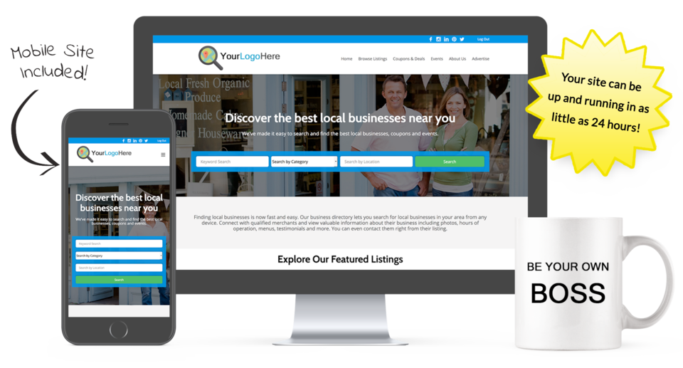 Start a directory website business