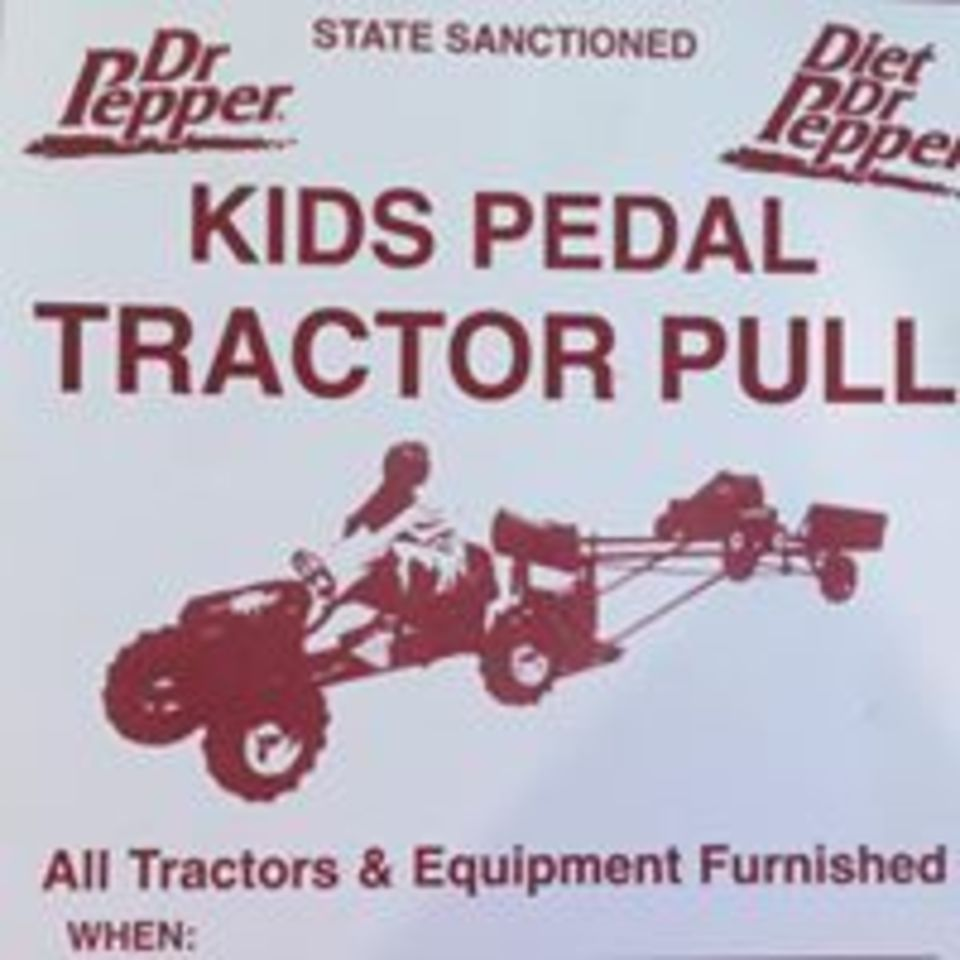 Kids Tractor Pedal Pull