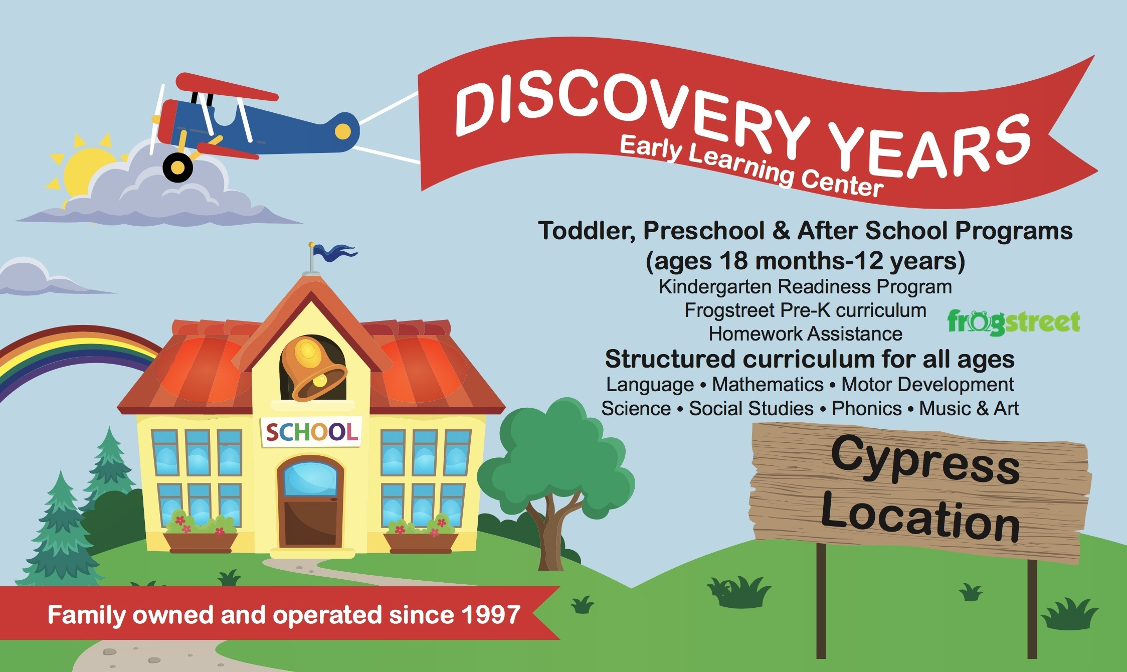 Discovery Years Early Learning Center (Live Online)