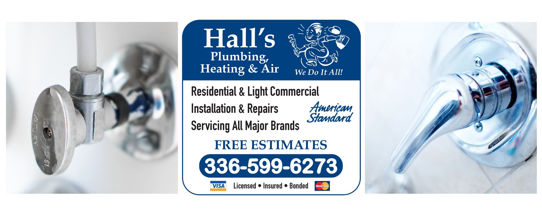 Contact Hall S Plumbing Heating Amp Air Hvac Plumber In