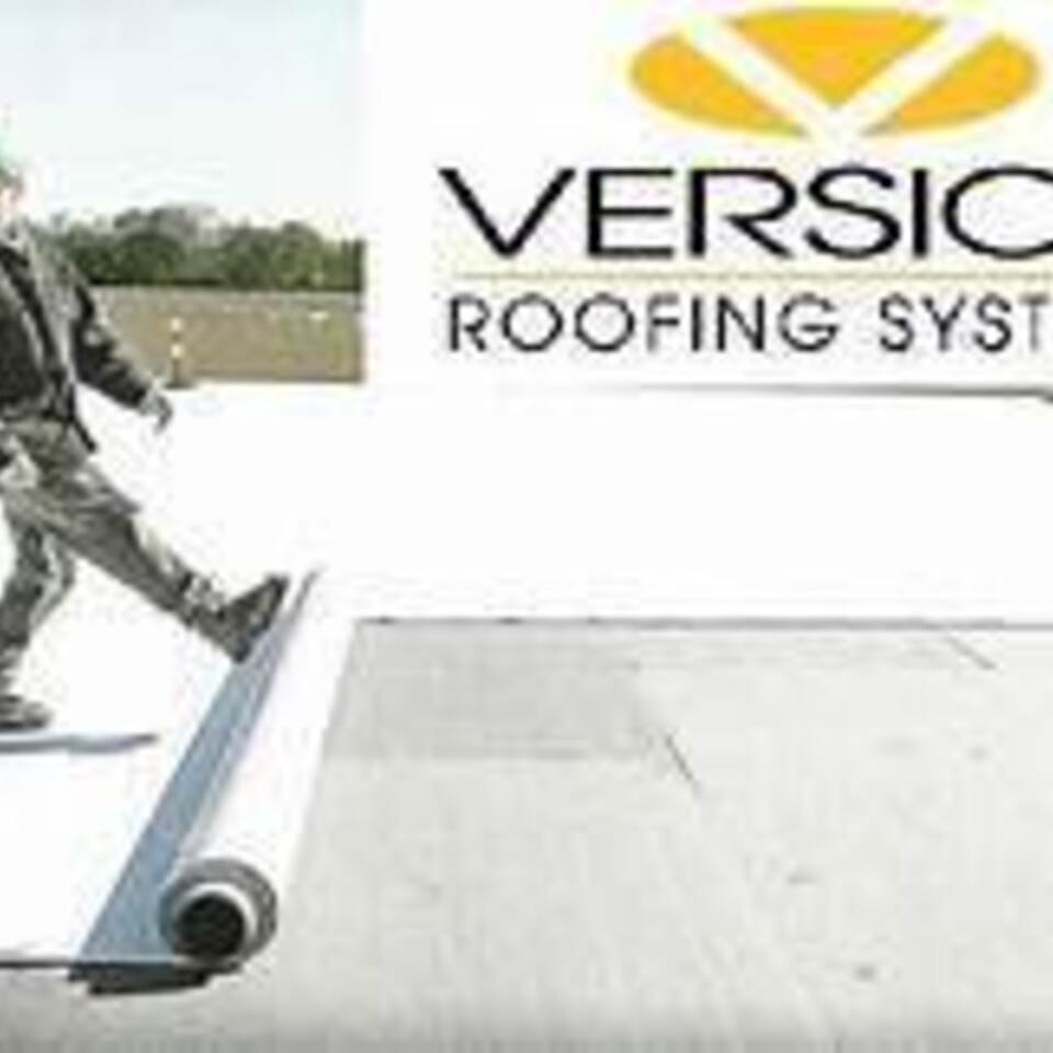 Versico Roofing Systems Logo, DLT Roofing, DLT Roofing Kenly uses Versico Roofing