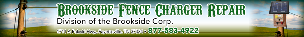 Brookside Fence Charger Repair