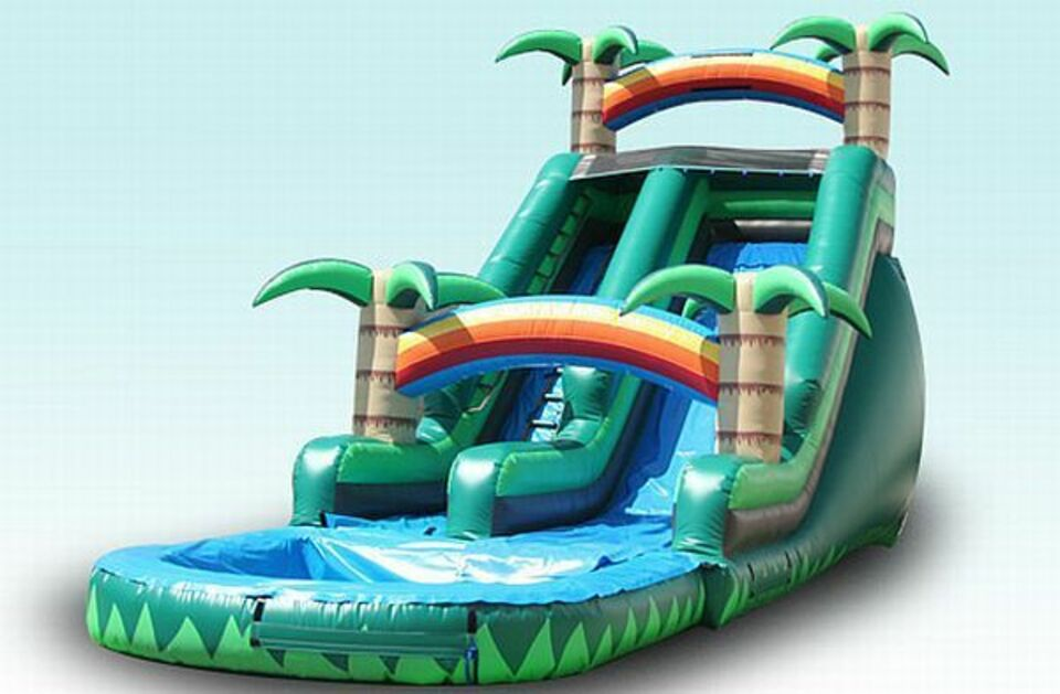 Tropical water slide inflatable party rental20161108 8071 1kelzcn