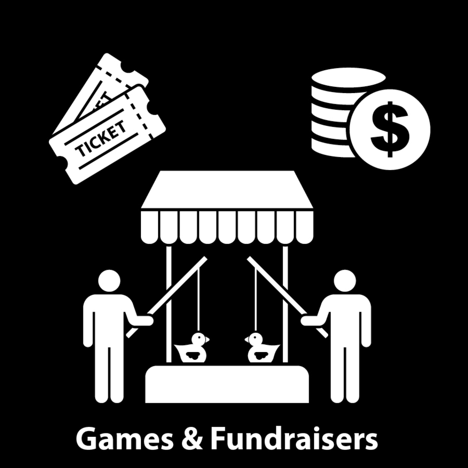 Games and fundraisers