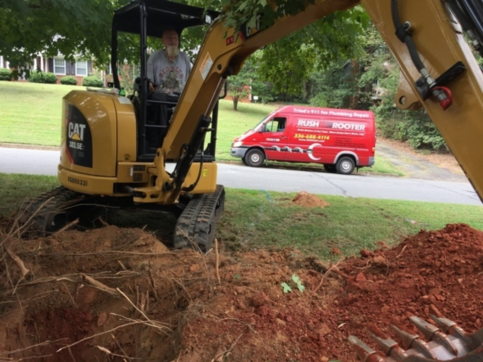 DRAIN DOCTORS OF THE TRIAD.WHEN YOUR DRAINS DON'T WORK, WE DO!