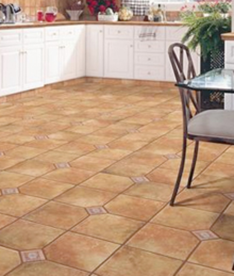 Ceramic Tile Flooring Is Durable And Waterproof
