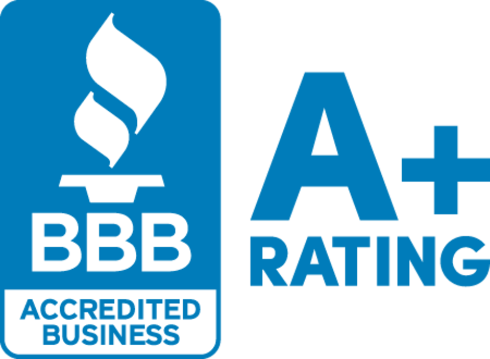 Over 70 years A+ Rating with the BBB!