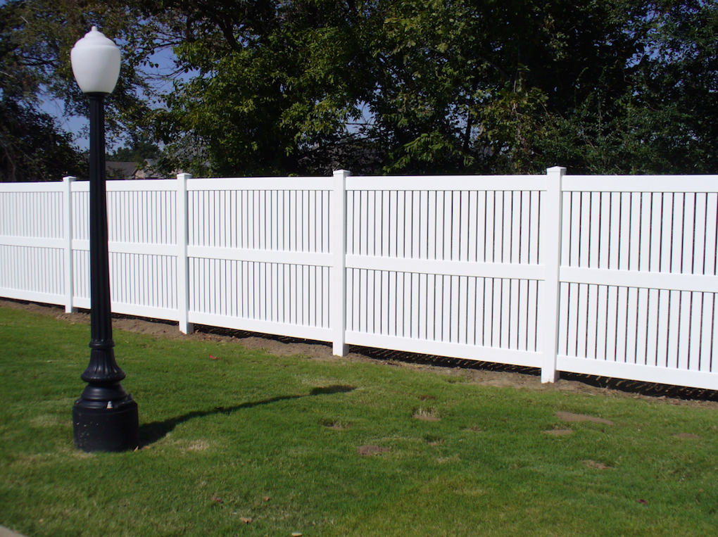 Midland Vinyl Fence Fencing Privacy Rail Picket