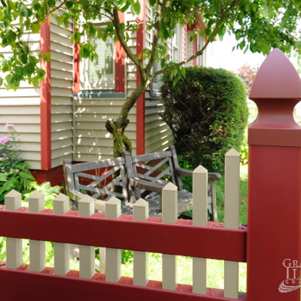 Midland vinyl fence   deck company   tulsa and coweta  oklahoma   vinyl metal wood fence sales and installation   caps   vinyl fence post cap red20170609 30865 efllef