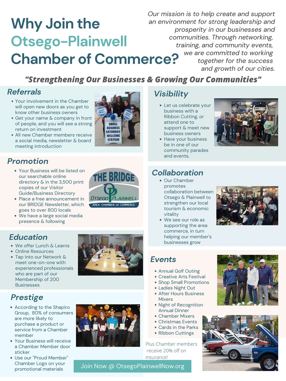 Why join the chamber page 0