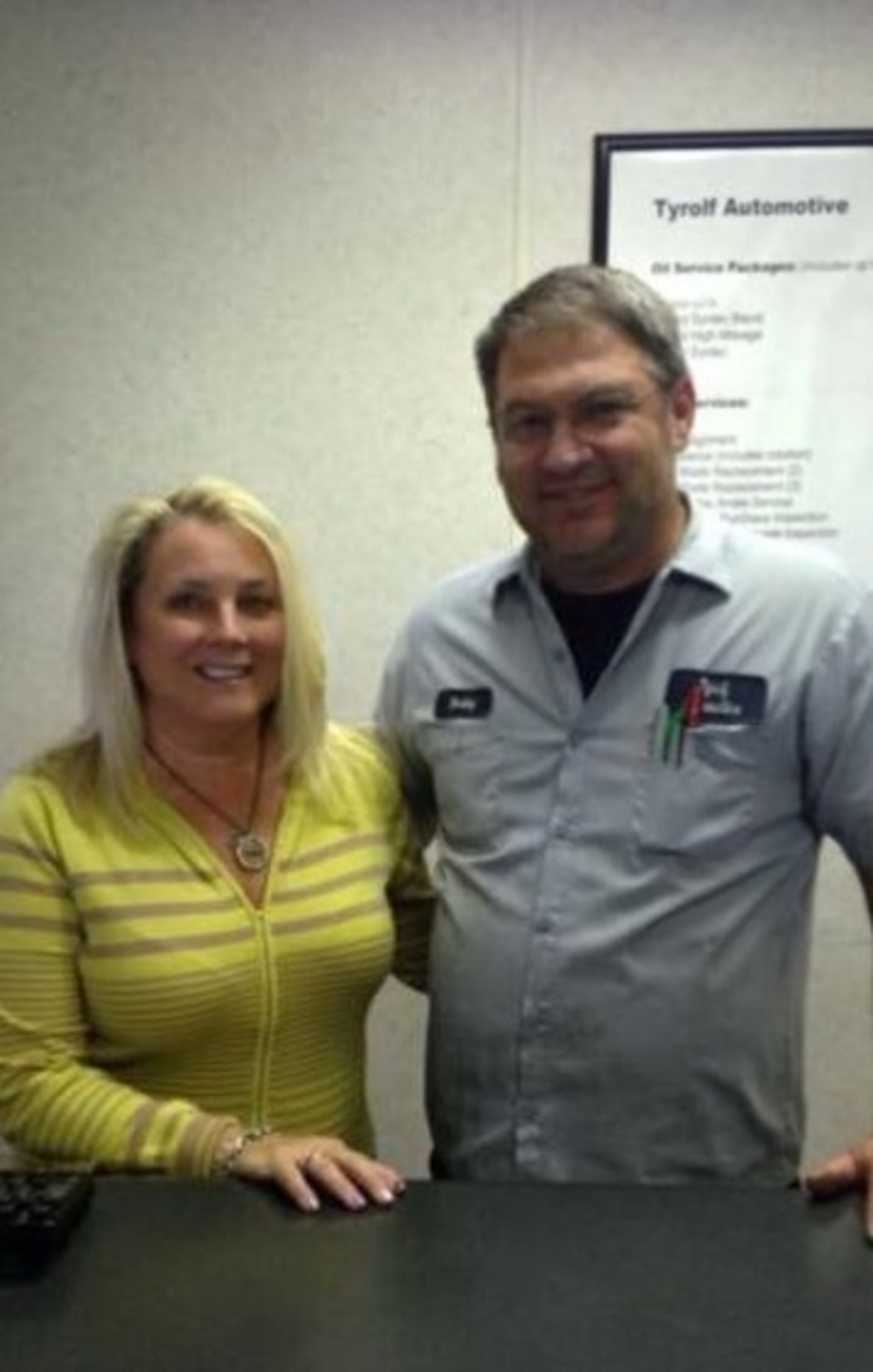 Meet Co-Owners Bobby and Sherri Tyrolf at our convenient location in Knightdale!