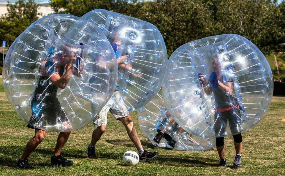 Bubble Soccer Package - $169