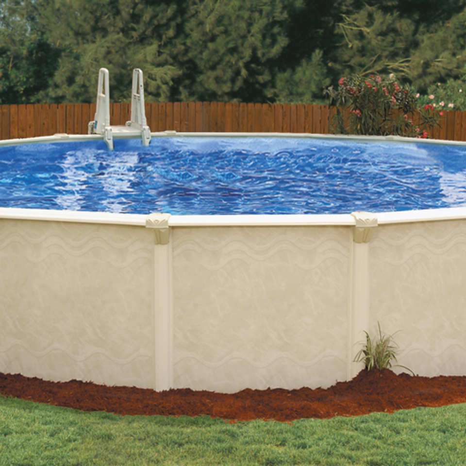 Century round above ground pool