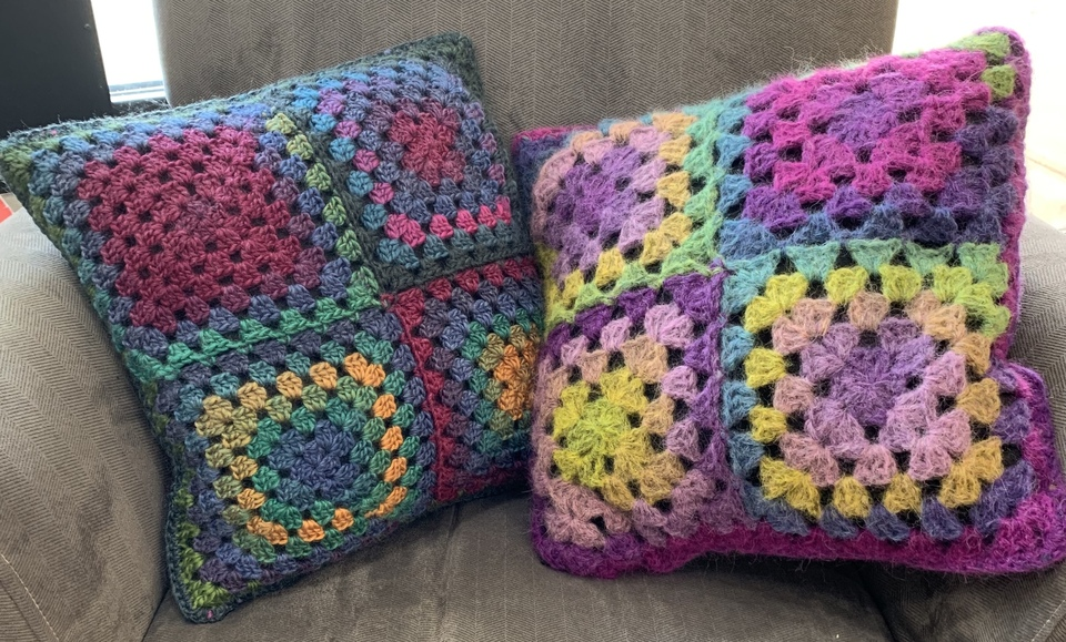 Granny square join as you go