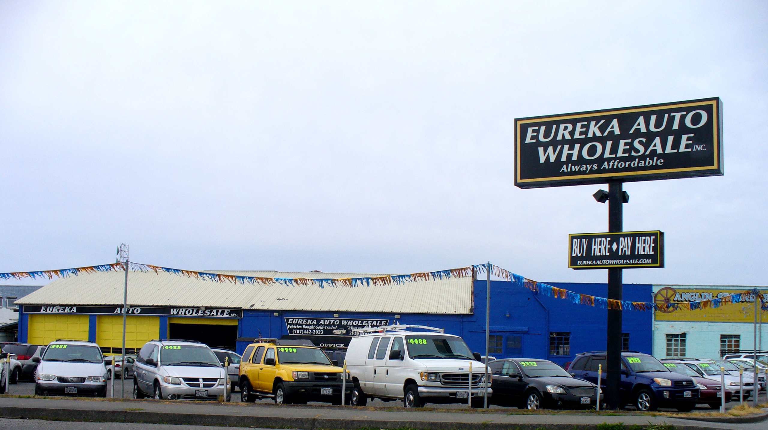 Eureka Auto Wholesale Main Site