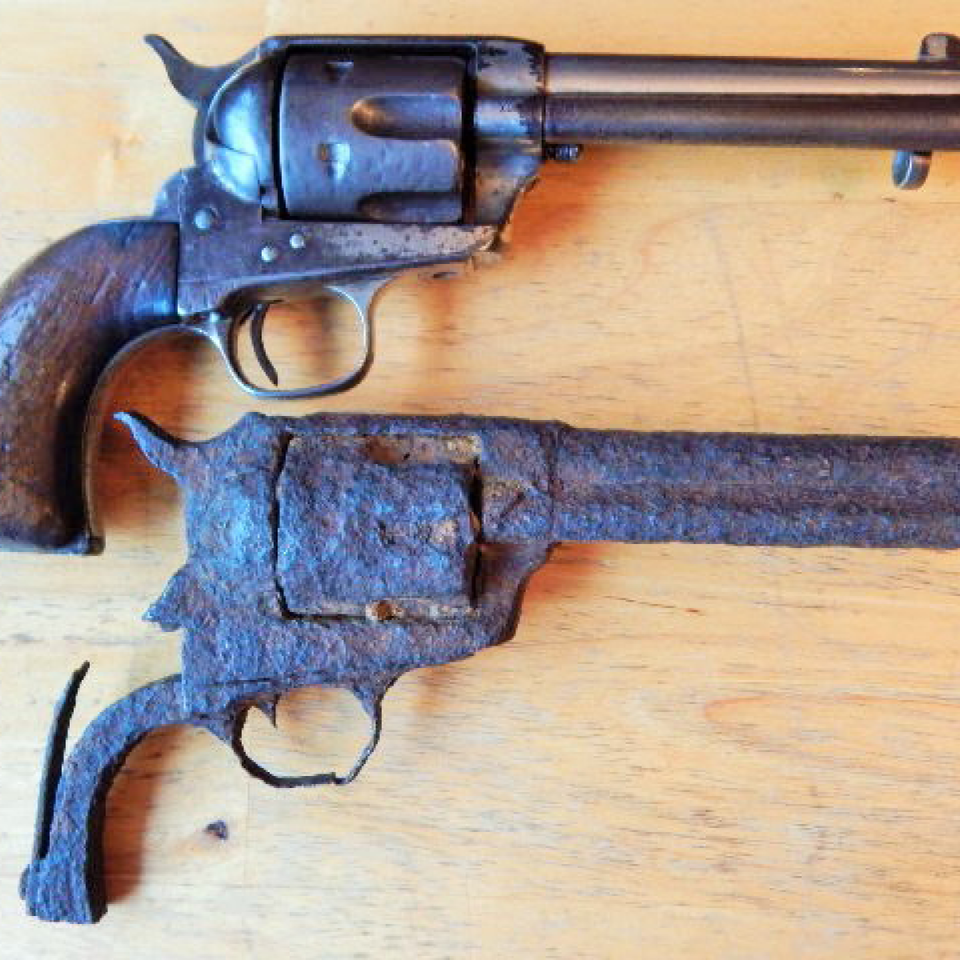 Dug  old west  colt saa  black powder revolver  loaded files720170912 15078 s2dde7