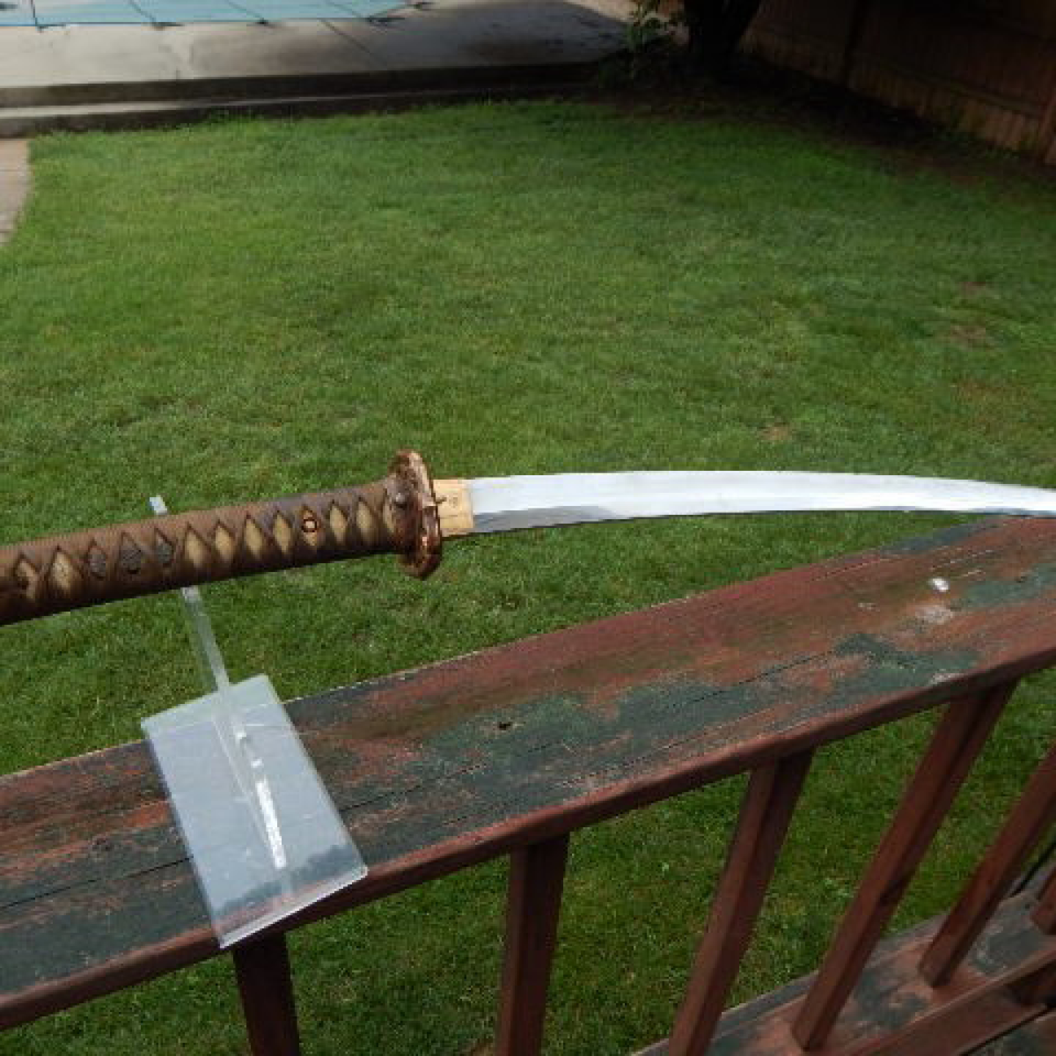 Japanese officer's wwii katana sword scb. signed files1220170912 22064 17u3rgt