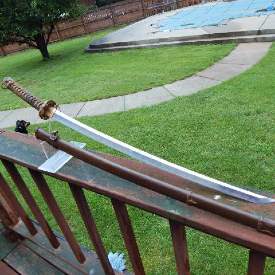 Japanese officer's wwii katana sword scb. signed files1320170912 22064 1kq7h8o