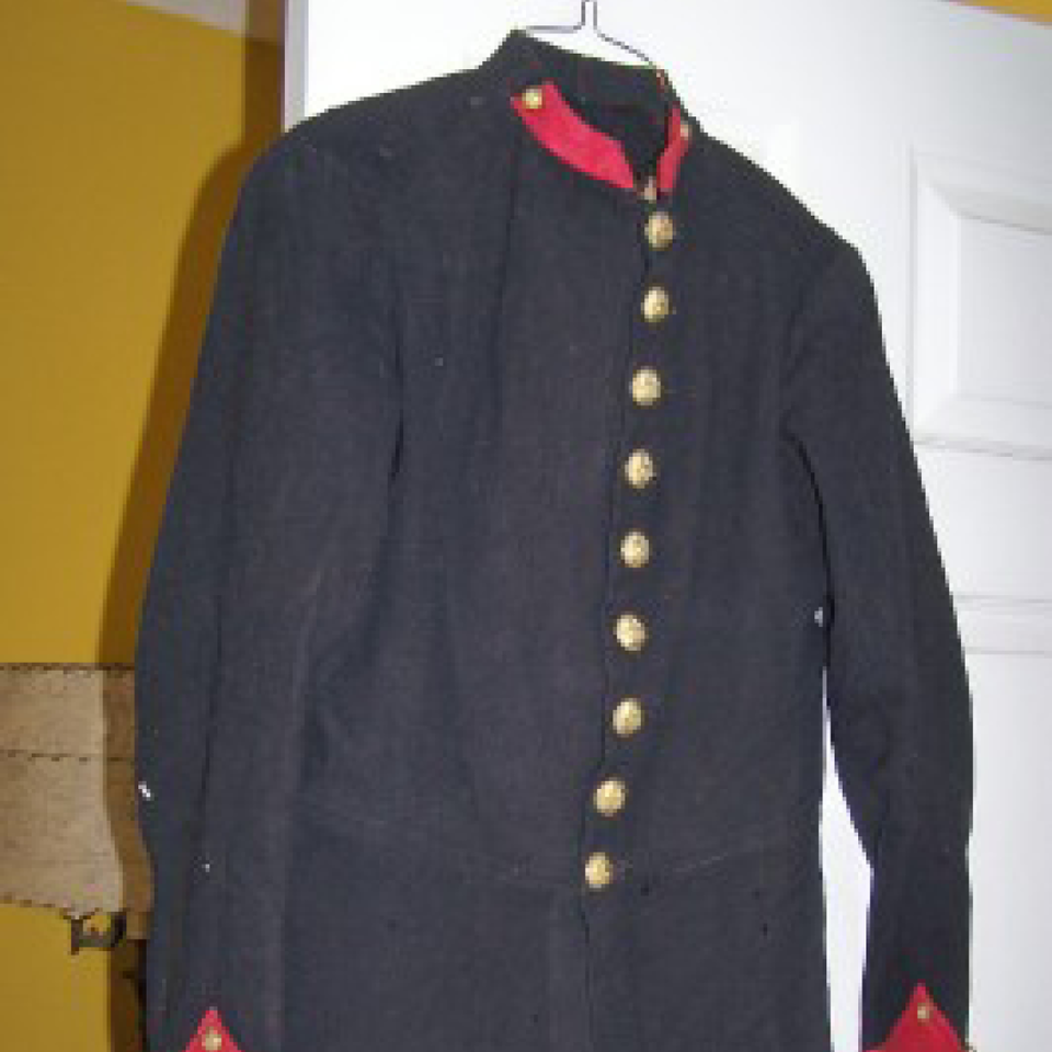 M1881 horse artillery soldier's frock coat files720170913 10087 lw4r99