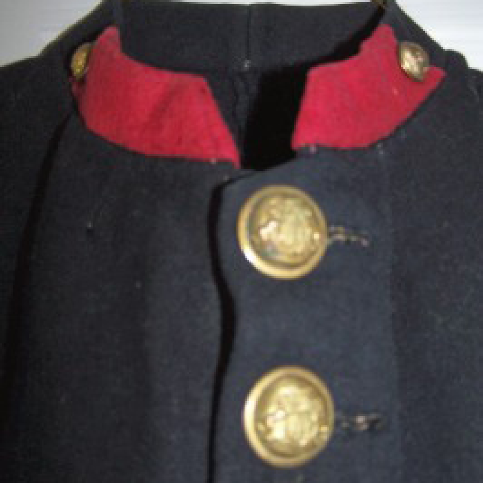 M1881 horse artillery soldier's frock coat files820170913 23345 1qt8mbm