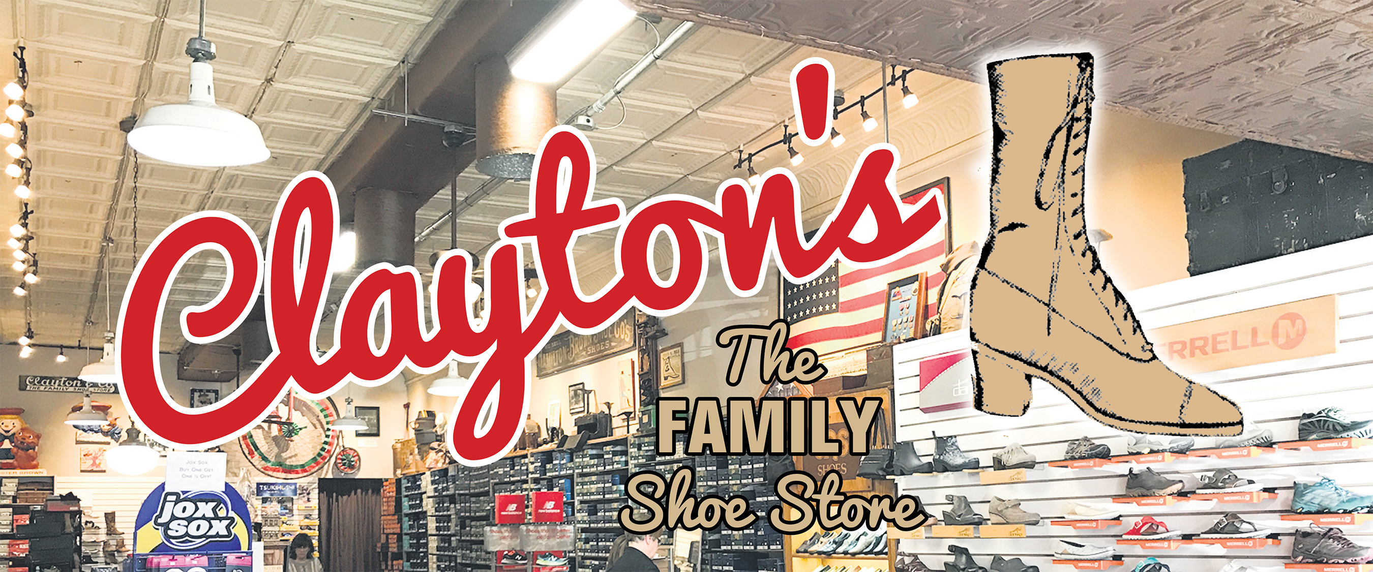 Clayton's Shoe Store