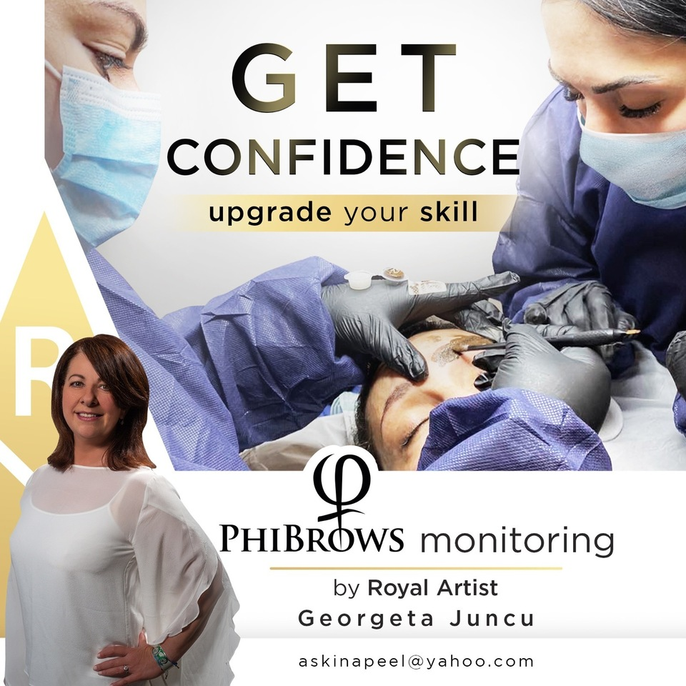 Microblading training and monitoring