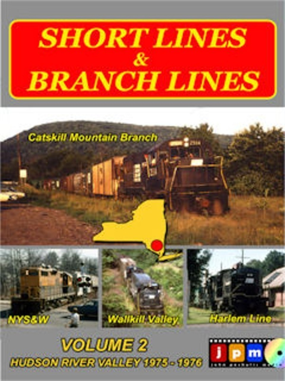 New DVD in stock....Shortlines & Branchlines Volume 2 featuring NYSW, Erie Lackawanna and NYC branchlines