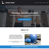 Personal trainer website design theme