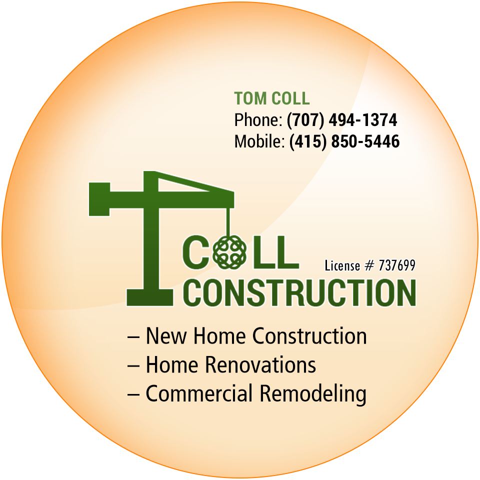 Call Tom Coll Construction Today!