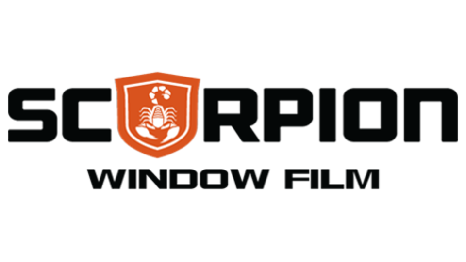 Proudly use Scorpion Window Film