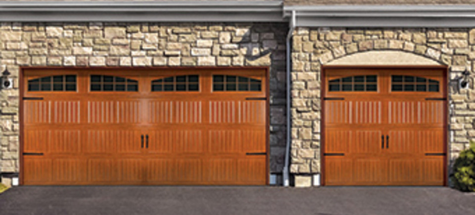 Steel garage door 8300 8500 woodgrain20140501 9956 icvtio