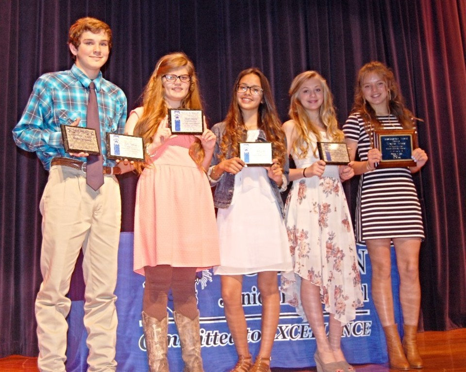 CJHS 8th Grade Honor Awards
