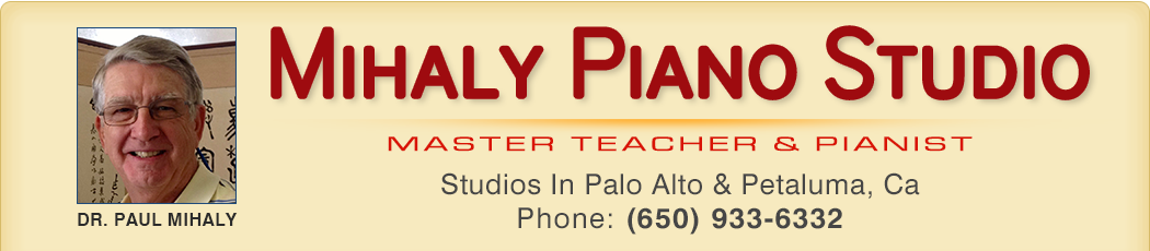 Mihaly Piano Studio
