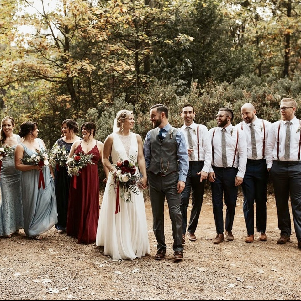 Gorgeous fall wedding