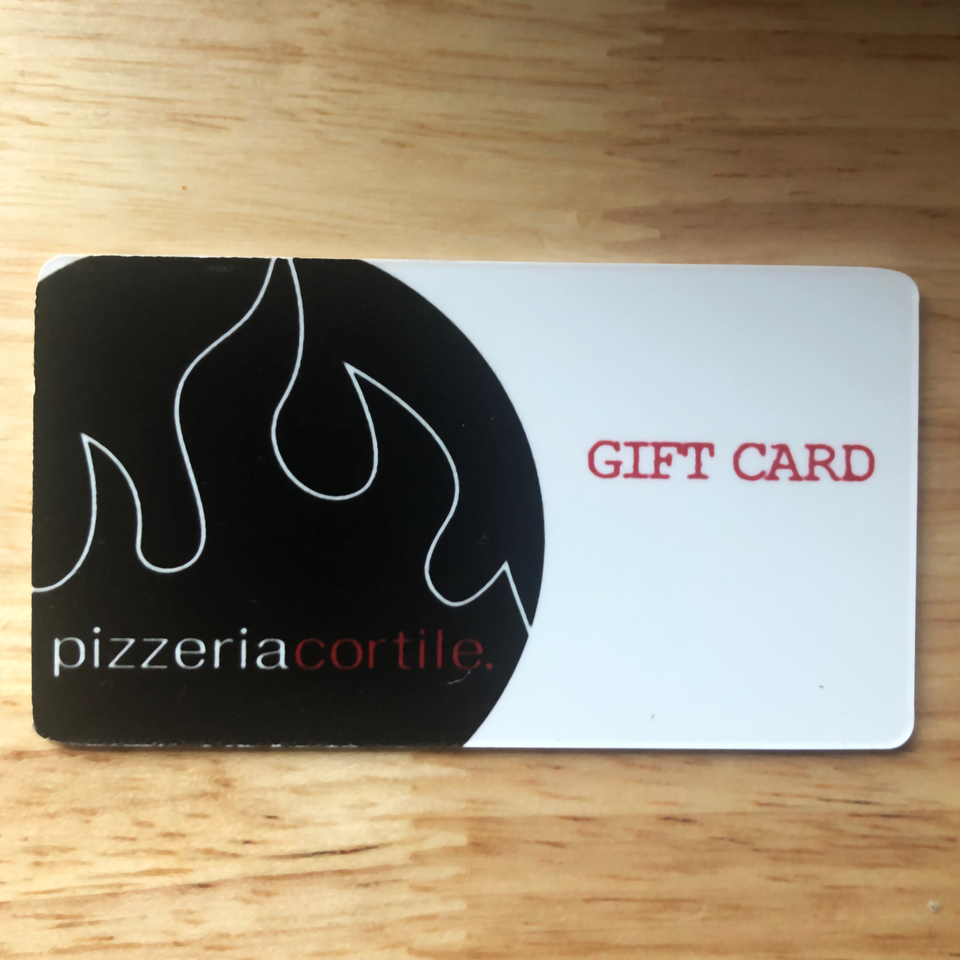 Pizzeria Cortile Gift Cards
