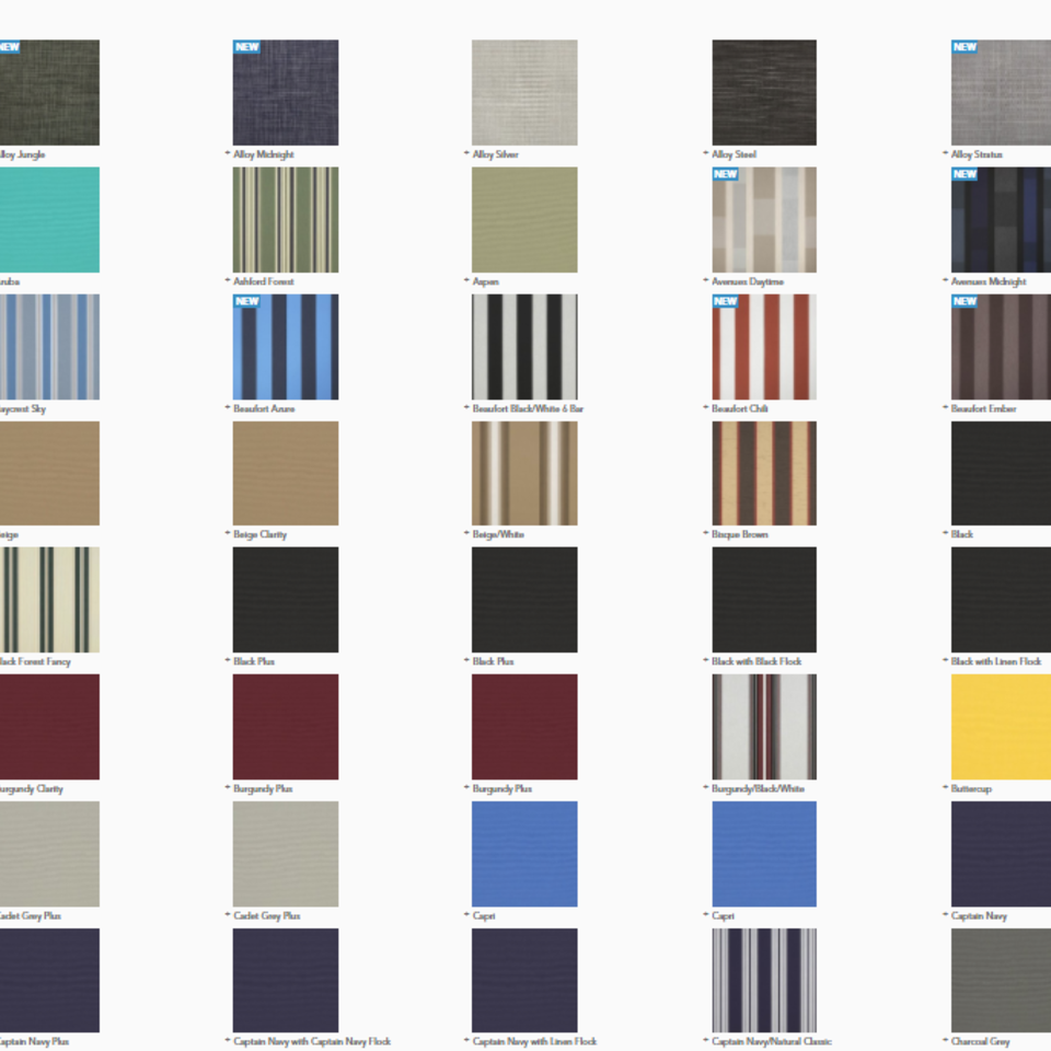 Sunbrella supreme fabric color swatches20180213 30844 1l07nmg