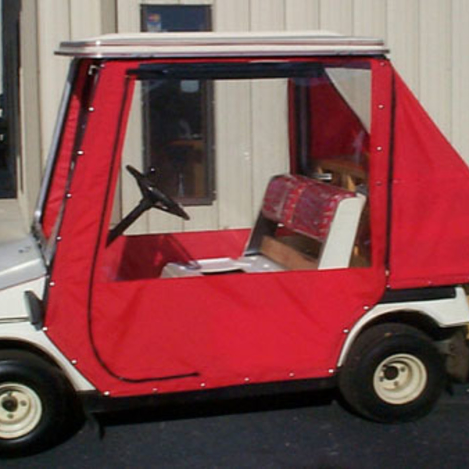 Red golf cart 120180214 29948 1vruy2x