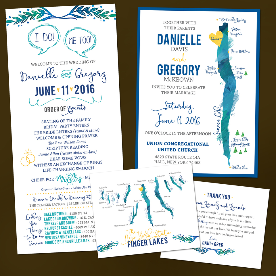 Finger lakes wedding invitations2