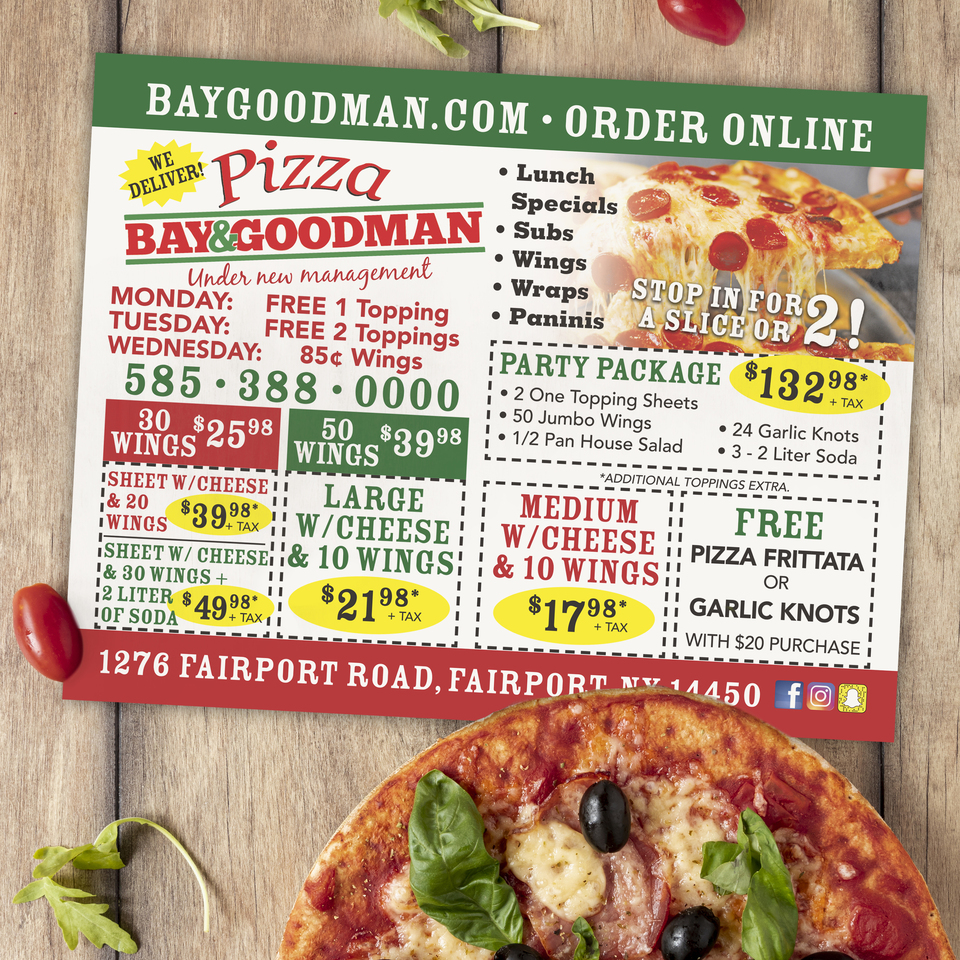 Bay goodman pizza